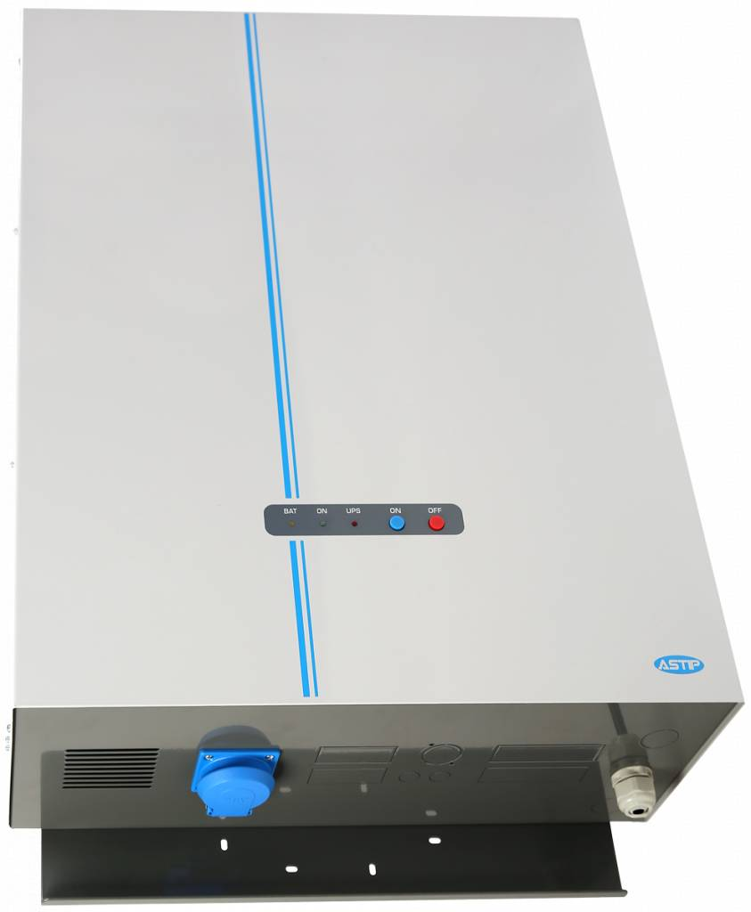 Noodstroomvoeding  230V 2000VA  8,6A 24U