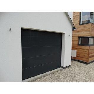 Sectionale garagepoort bouwpakket met  motor