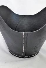 Decor Of World Robuste Tragekörbe aus recycelten Autoreifen 2er Set– Durchmesser 40/30 cm