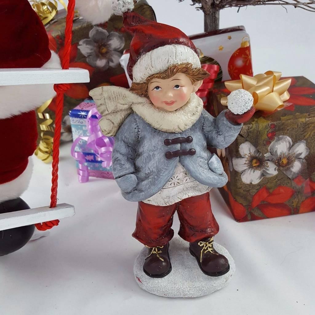 Decor Of World Winterkinder Deko Figuren