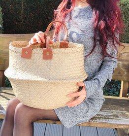 Decor Of World Tasche  aus Seegras, natur Handtasche Einkaufstasche
