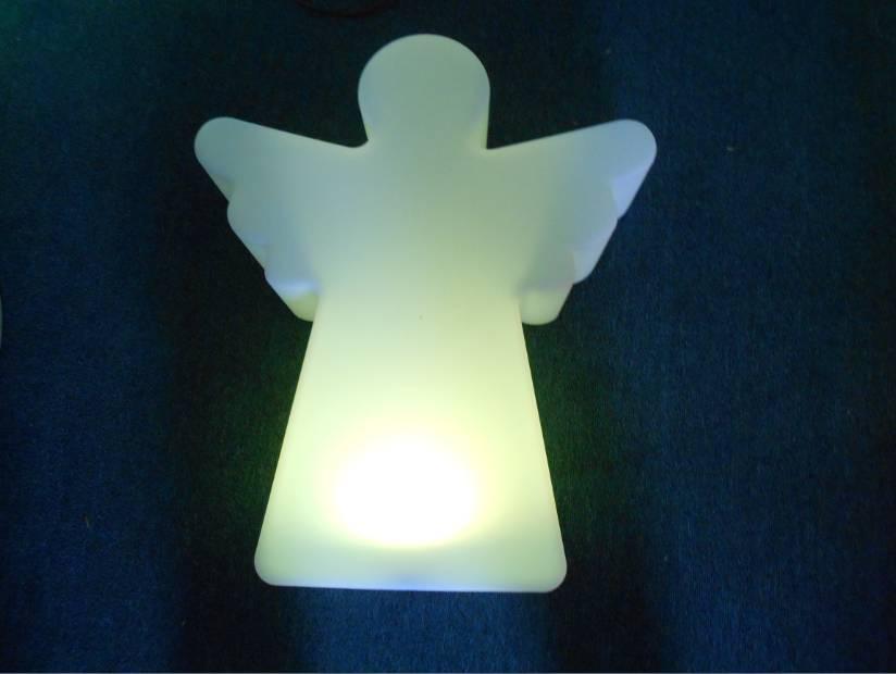 LED Engel Beleuchtung , Kabellos mit Farbwechsel, Fernbedienung, Akku, 55 cm x 14 cm x 65 cm