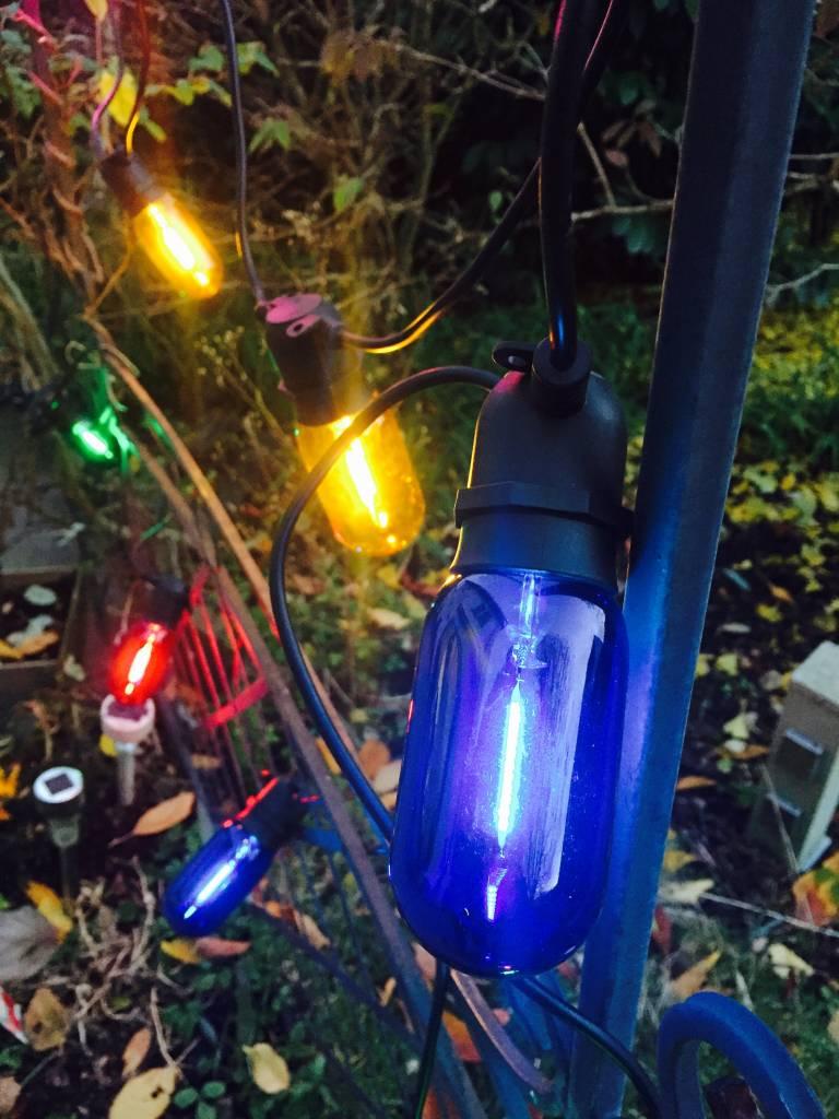 Hochwertige bunte LED Lichterkette für den Innen- und Außenbereich