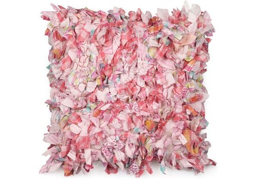 Dutch Decor Sierkussen 45x45 Recycle Roze