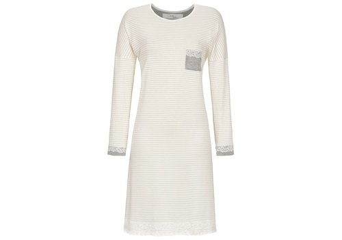 Cherie Line Nachthemd Ivory stripe