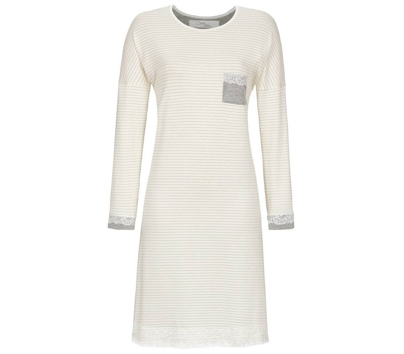 Nachthemd Ivory stripe