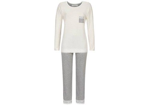 Cherie Line Pyjama Ivory stripe