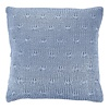 Dutch Decor Kussenhoes Erica 45x45 cm denim