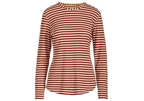 Pip Studio Top Tom Sleepy Stripe Red