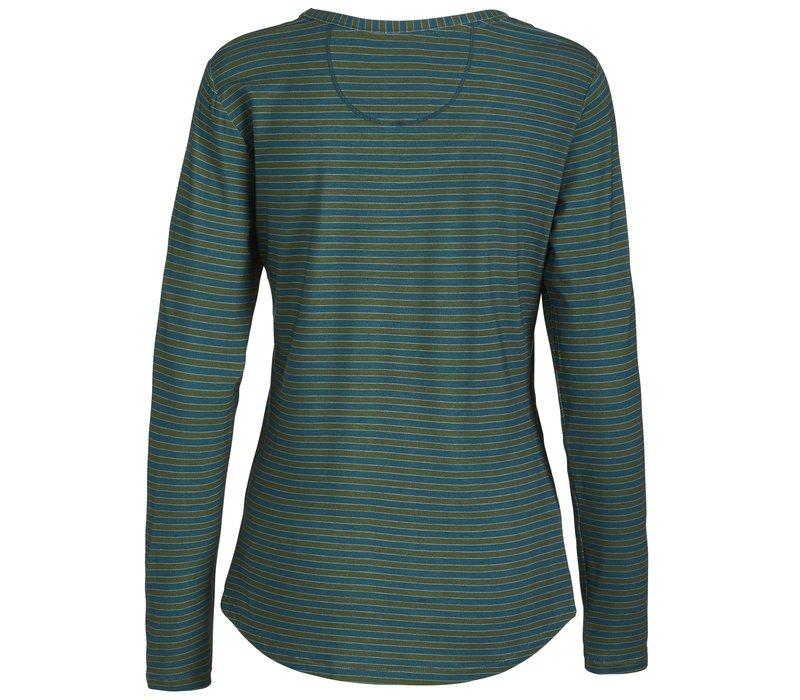 Top Trixy Fushion Stripe Blue
