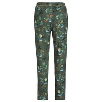 Broek Bobientje  Leafy Stitch Small Green