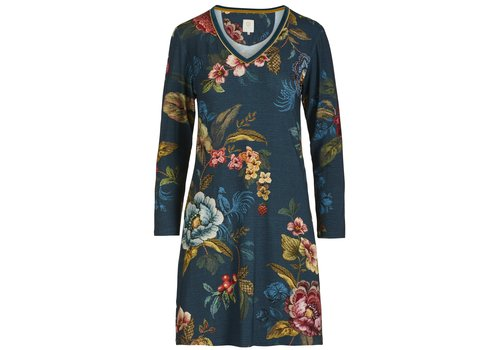 Pip Studio Nightdress Dana Poppy Stitch Blue