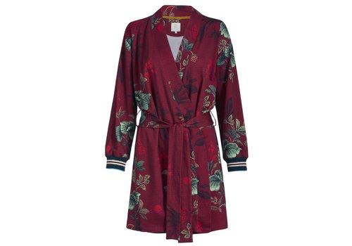 Pip Studio Kimono Ninny Leafy Stritch Big Red