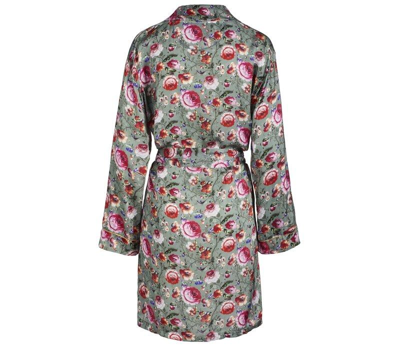 Kimono Ninny Folklore Fantasy Green