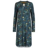 Nightdress Diogo Leafy Stitch Smalle Blue