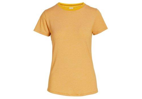 Pip Studio Top korte mouw shiny stripes geel