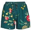 Pip Studio Korte broek fleur grandeur groen