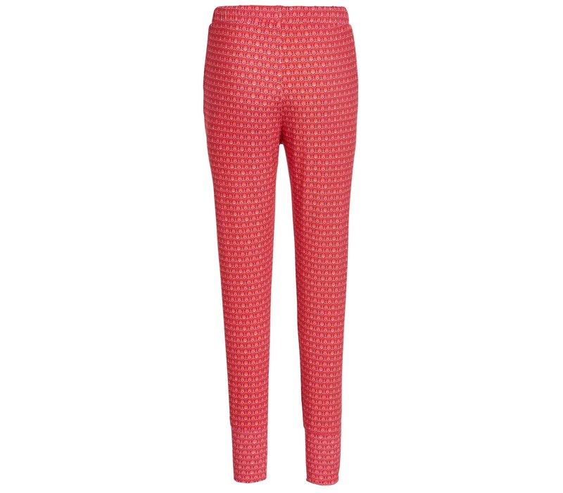 Lange broek rococo rood