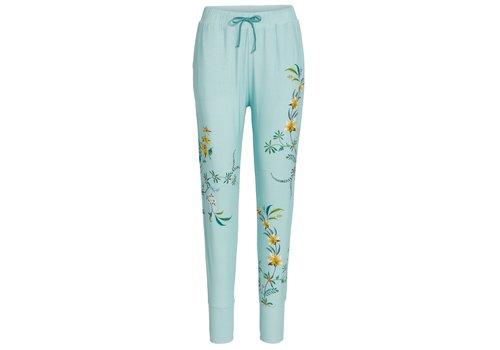 Pip Studio Lange broek grand fleur blauw