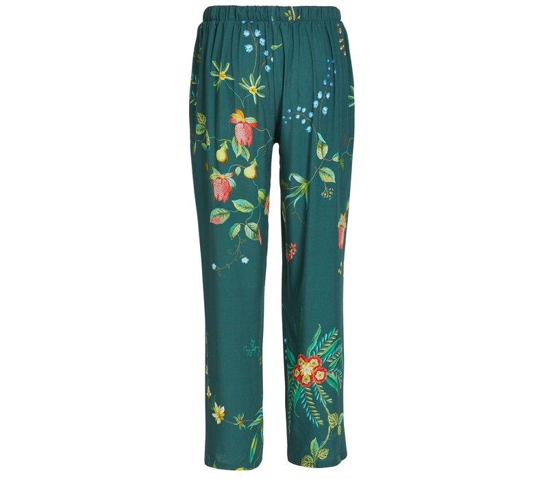 Lange broek fleur grandeur groen