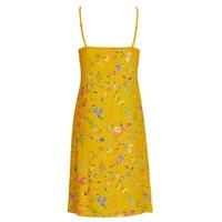 Nachthemd petites fleurs geel