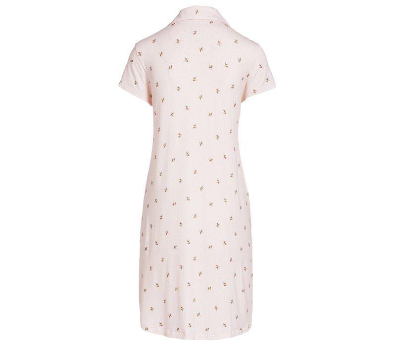 Nachthemd bisous licht roze