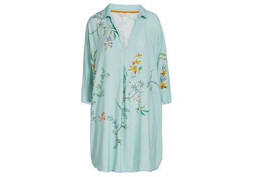 Pip Studio Nachthemd grand fleur blauw