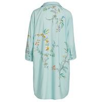 Nachthemd grand fleur blauw