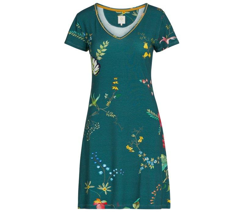 Nachthemd fleur grandeur groen