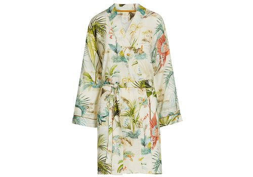 Pip Studio Kimono palm scenes off wit