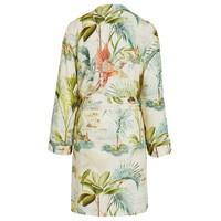 Kimono palm scenes off wit