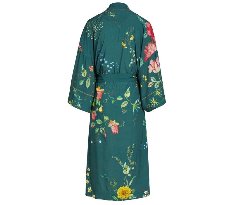 Kimono fleur grandeur groen