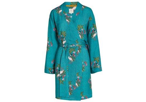 Pip Studio Kimono my heron groen