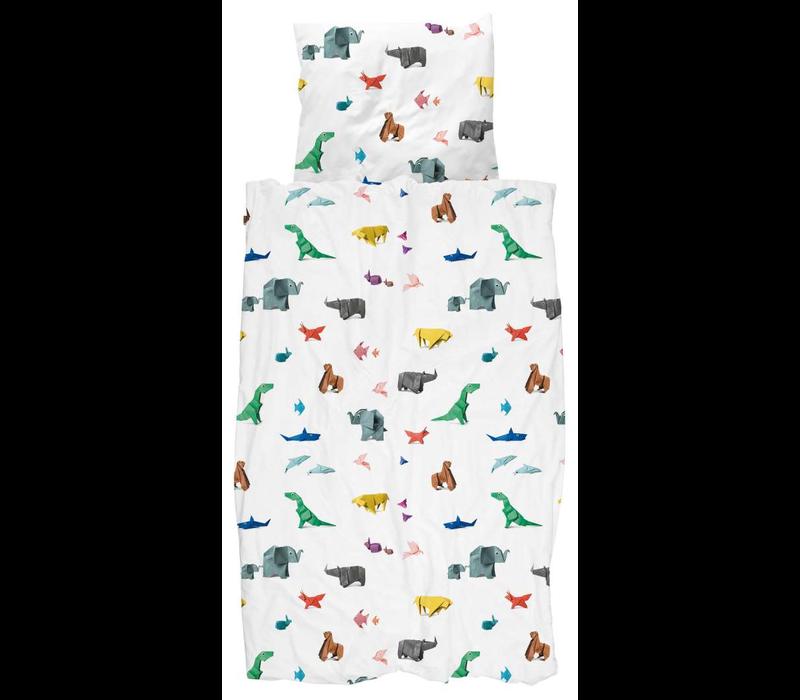 Dekbedovertrek Paper Zoo
