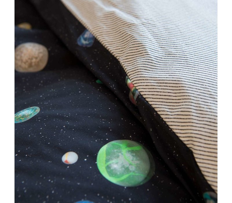 Dekbedovertrek Marble Universe