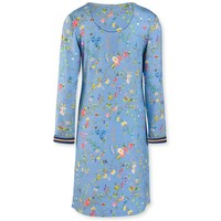 Nachthemd Dana Petites Fleurs Big Light Blue