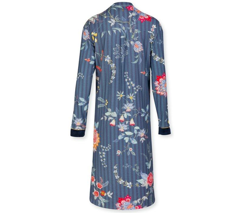 Nachthemd Diogo Flower Festival Dark Blue
