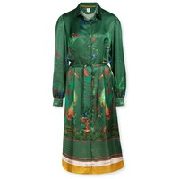 Dress Donatella Birds In Love Green