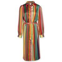 Dress Donatella Jacquard Stripe Multi