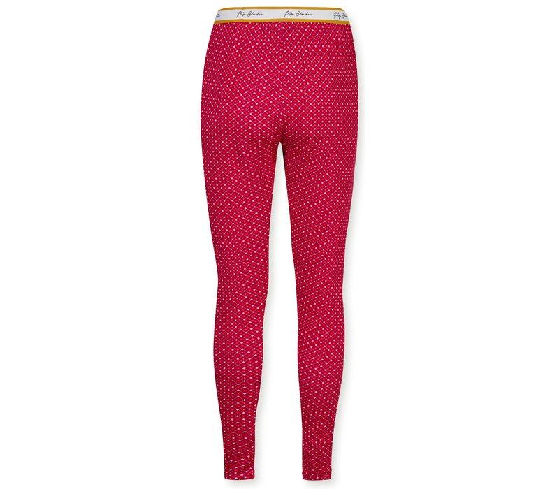 Legging Bibi Star Tile Red