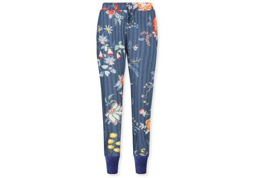 Pip Studio Trousers Bobien Flower Festival Dark Blue
