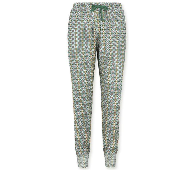 Trousers Bobien Star Flower Green