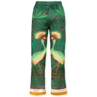 Trousers Belin Birds In Love Green