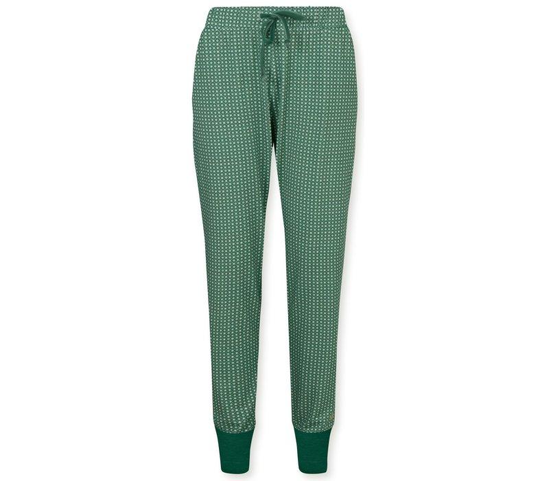 Trousers Bobien Star Tile Green