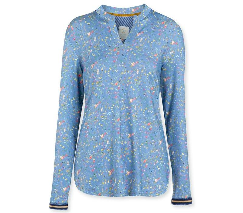 Top Teddie  Petites Fleurs Big Light Blue