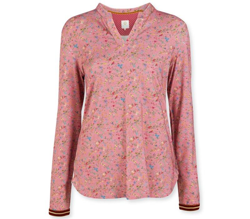 Top Teddie Petites Fleurs Big Pink