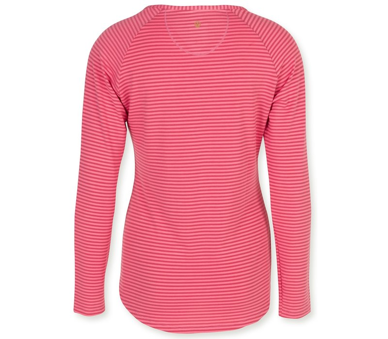 Top Tommy Tonal Stripe Red