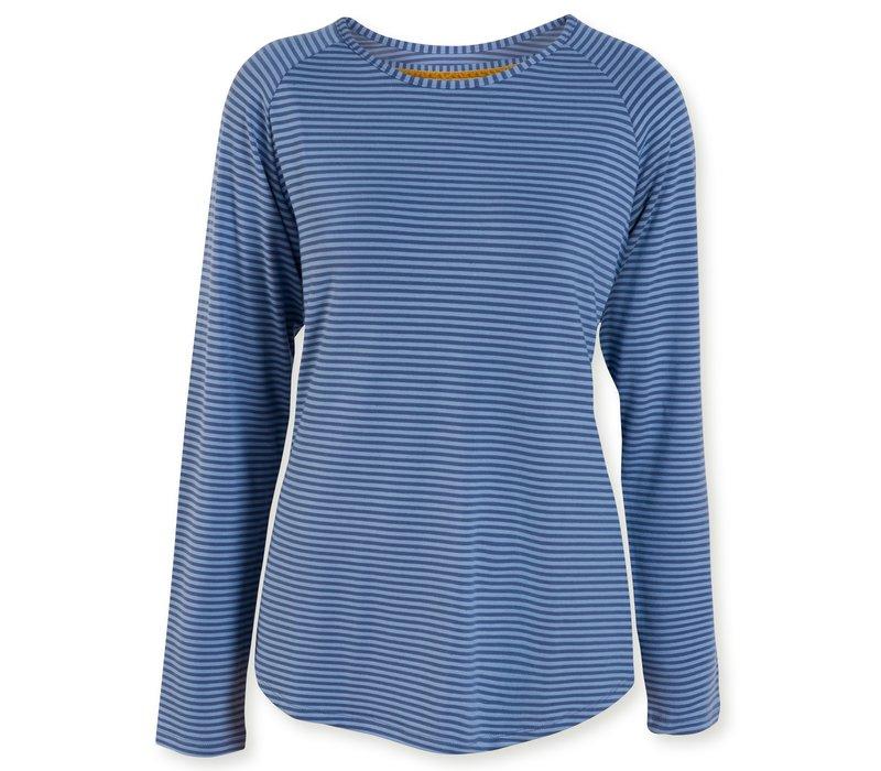 Top Tommy Tonal Stripe Blue