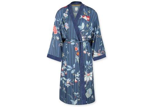 Pip Studio Kimono Naomi  Flower Festival Dark Blue