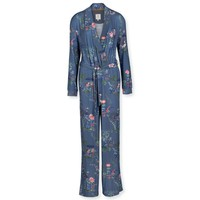 Jumpsuit Perre Chinese Porcelain Blue